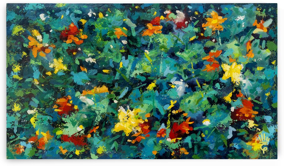 Flowers Bees and Butterflies by Òscar Guerrero