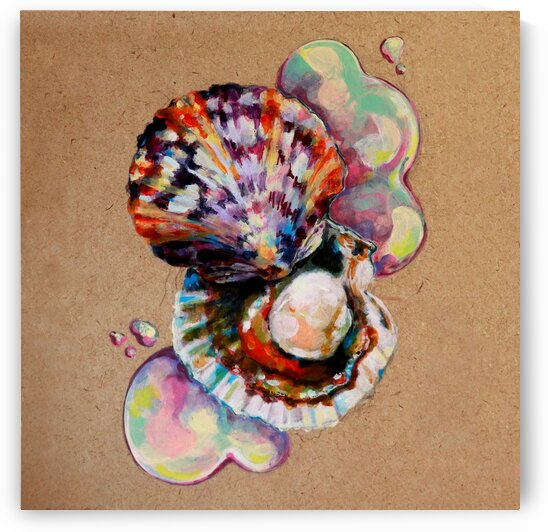 Scallops by Andrea Cheung