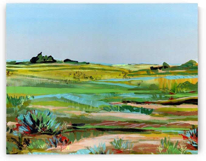 Vibrant Prairie by JLMohr Art