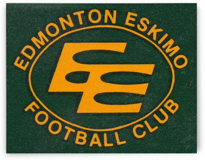 1983 Edmonton Eskimos Football Club by Row One Brand