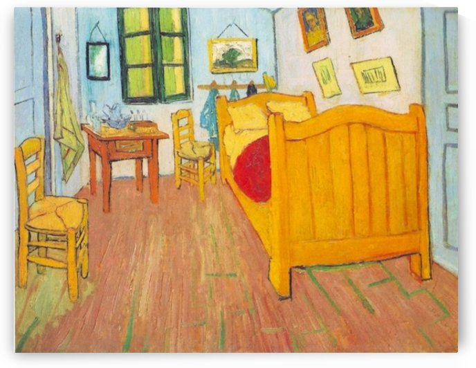The bedroom in Arles. Saint-Remy by Van Gogh by Van Gogh