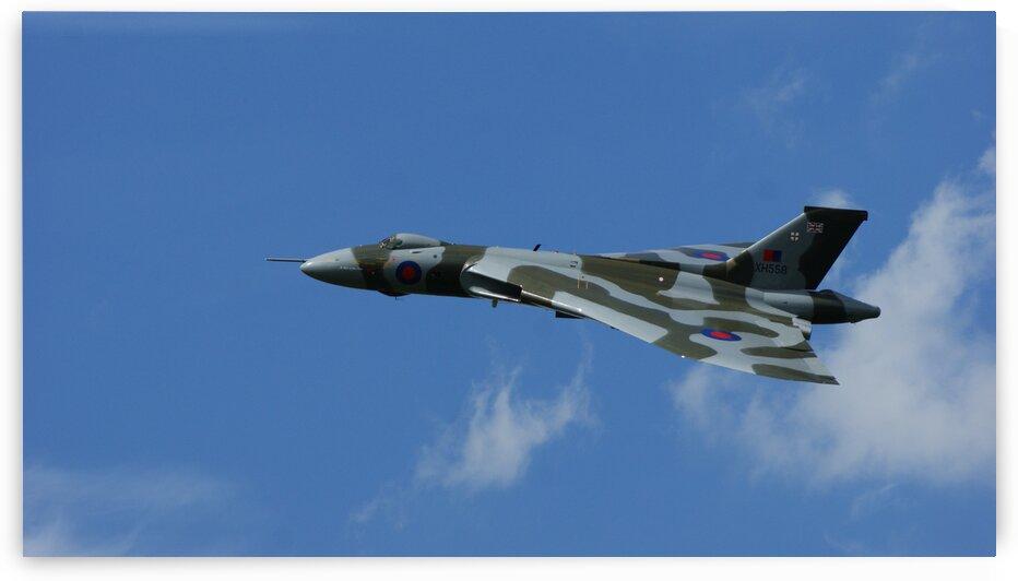 Avro Vulcan Bomber by Pixcellent Adventures