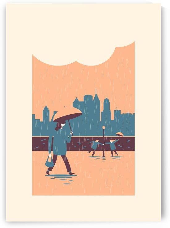 In the rain by Rene Hamann