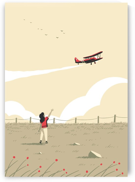 The red plane by Rene Hamann