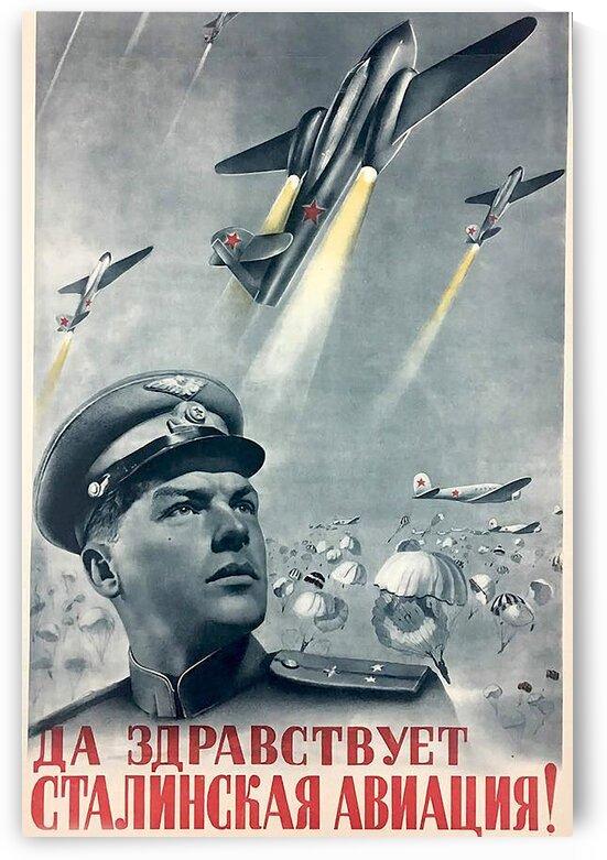 Propaganda poster by Teofil Tiulkin
