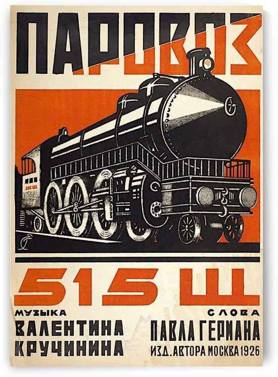 Steam Train by Teofil Tiulkin