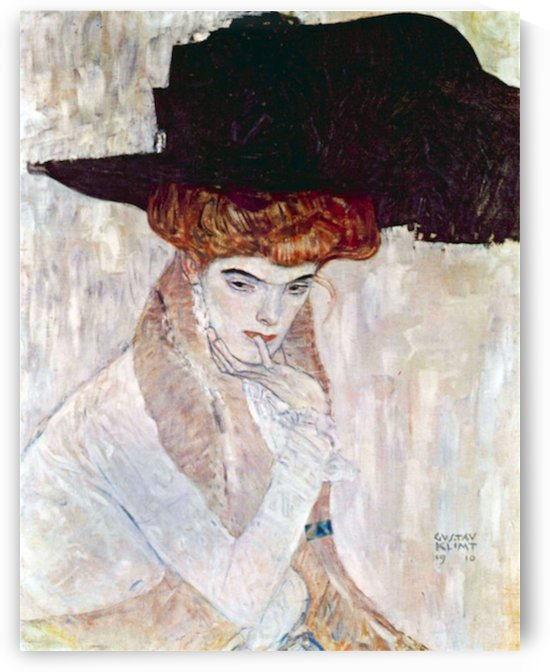 The Black Hat by Klimt by Klimt
