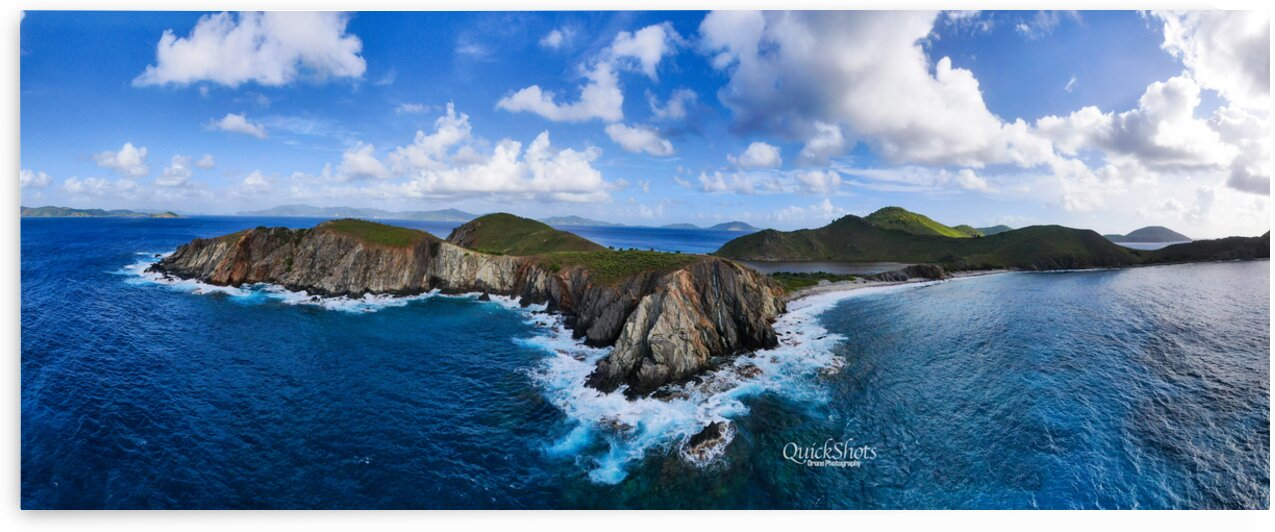 Salt Island British Virgin Islands by QUICKSHOTS