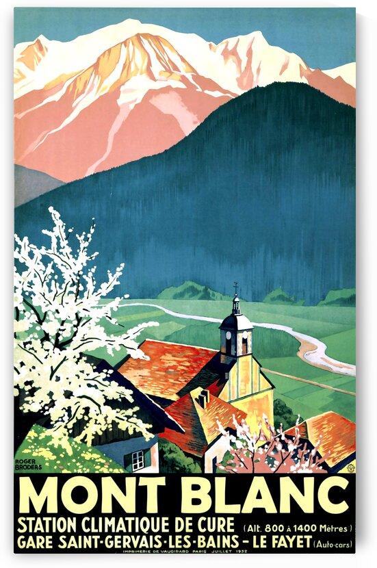 Mont Blanc by vintagesupreme
