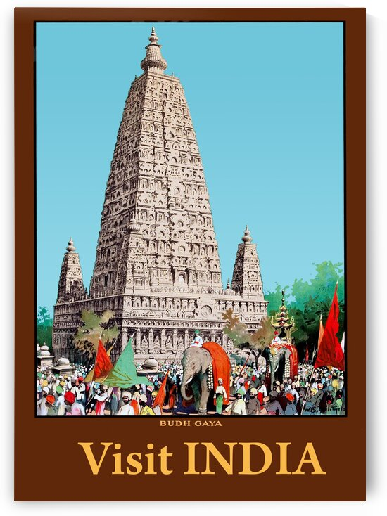 Bodh Gaya Temple by vintagesupreme
