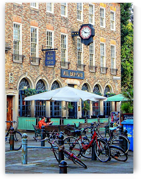 Bicycles Bar One Brighton by Dorothy Berry-Lound