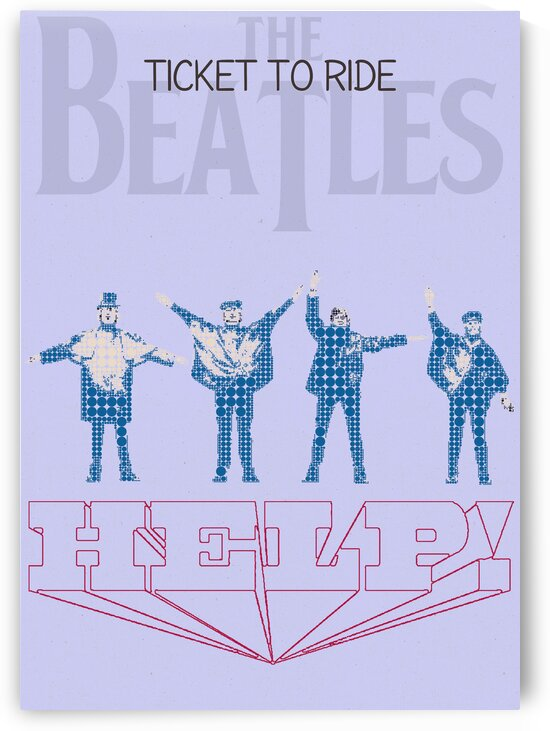 Ticket To Ride   The Beatles by Gunawan Rb
