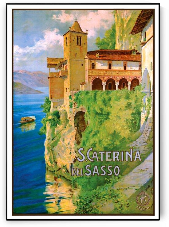 Santa Caterina del Sasso by vintagesupreme