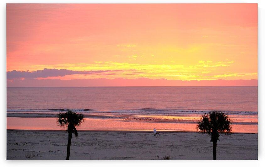 Pink Sea at Dawn by Darryl Brooks