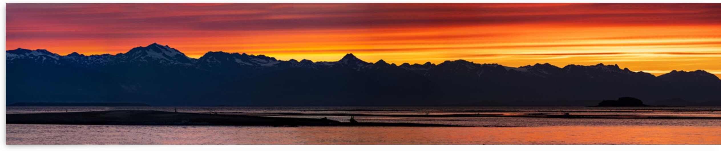 Sunset panorama 3 by Caleb Nagel