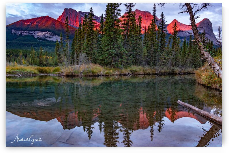 Ha Ling Fall Sunrise From Policemans  Creek  by Mike Gould Photoscapes