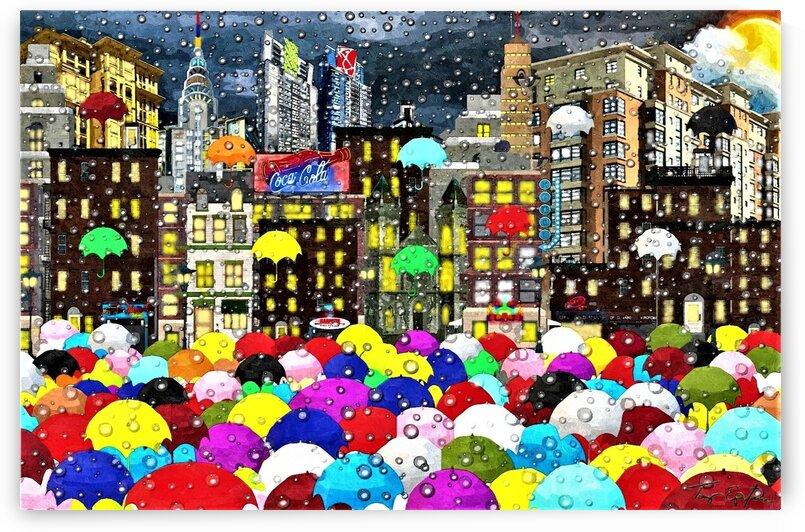 CITY BRIGHT RAIN by ANTONIO EPIFANI
