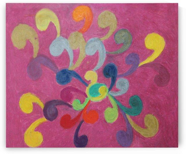 Pink Abstract by Pallavi Sharma