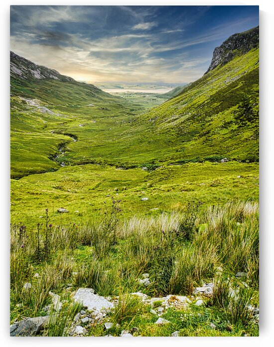 Granny Pass - Country Donegal 2 by Lexa Harpell