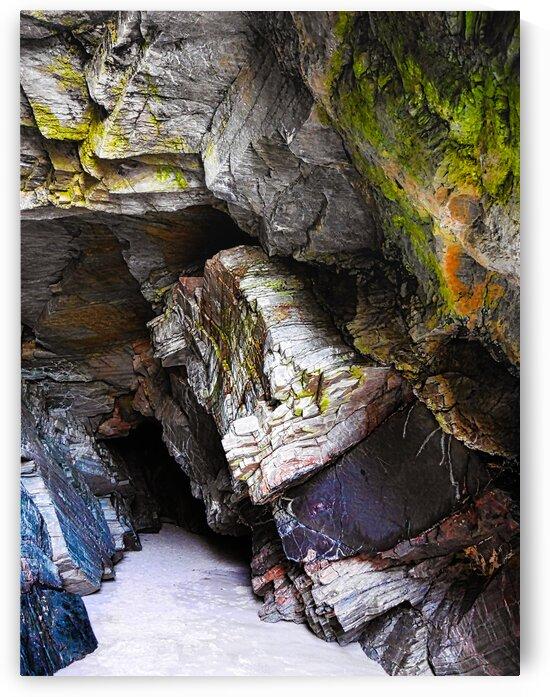 Sea Caves of  Maghera Beach by Lexa Harpell