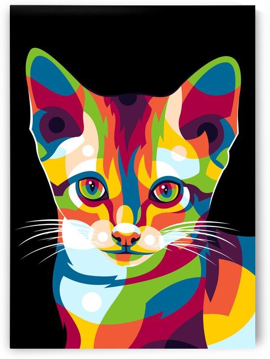 The Cute Little Cat by wpaprint