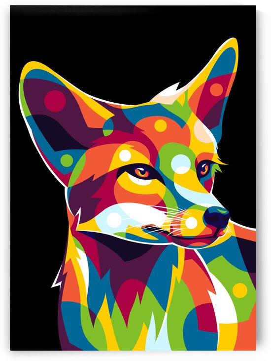 The Wild Fox by wpaprint