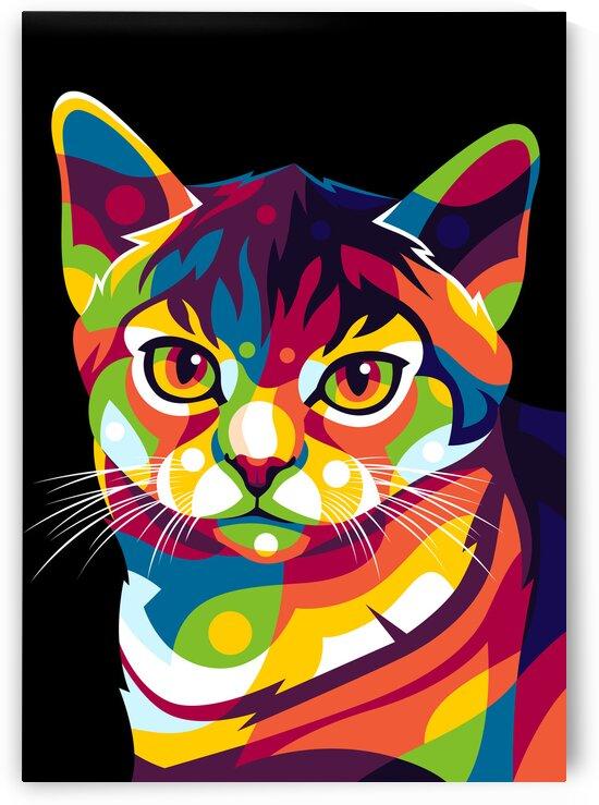 The Cat Portrait by wpaprint