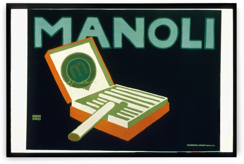 Manoli by VINTAGE POSTER