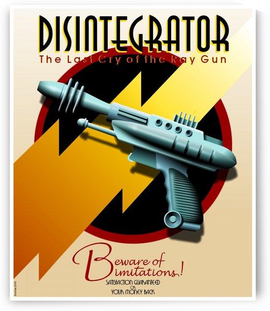 Disintegrator by VINTAGE POSTER