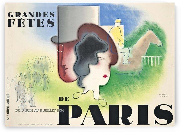 Grande Fete Paris by VINTAGE POSTER