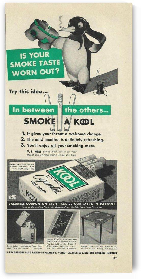 Kool Cigarettes by VINTAGE POSTER