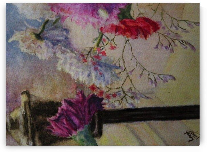 flowers for hadas by Leah Saban