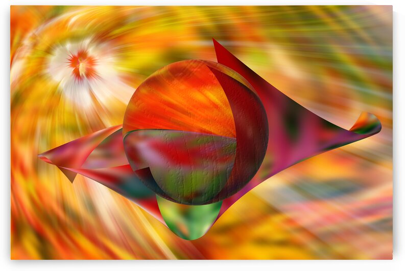 Abstract - Hibiscus Flowers Light by PitoFotos