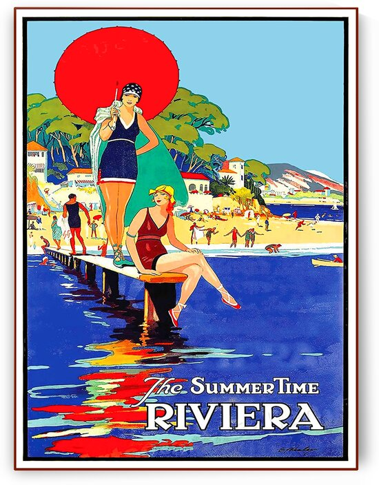 The Summertime Riviera by vintagesupreme