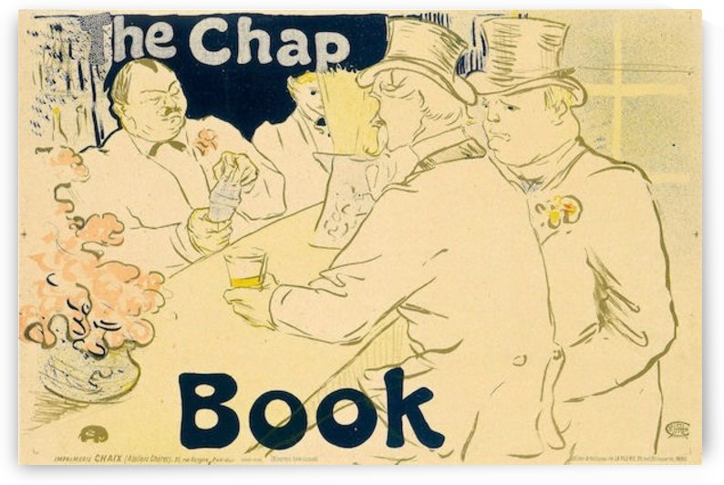 The Chap by Toulouse-Lautrec by Toulouse-Lautrec