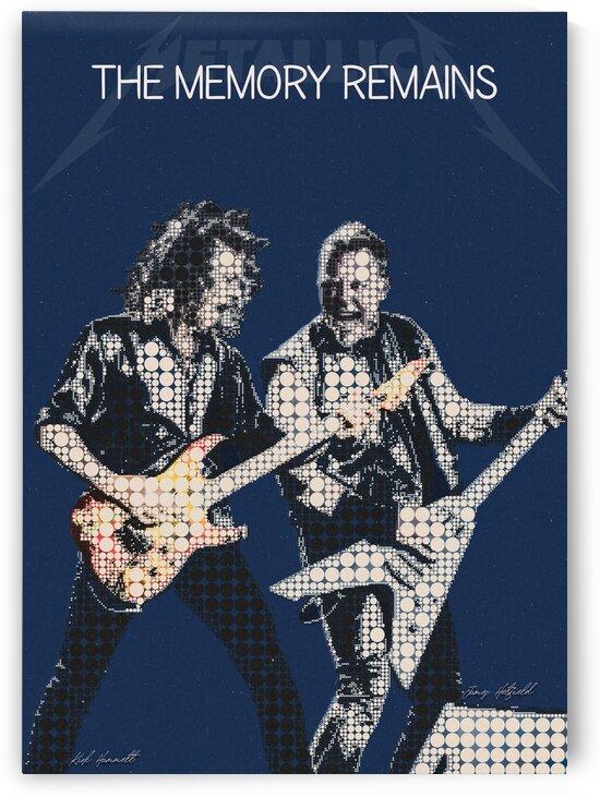 The Memory Remains   Kirk Hammett   James Hetfield   Metallica by Gunawan Rb