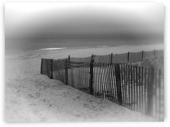 Calm Before the Storm at the Beach by Ocean City Art Gallery