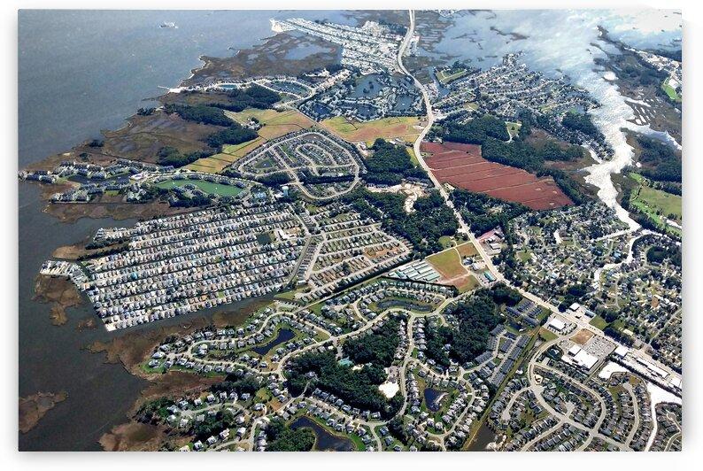 West Fenwick Island Aerial Imagery by Ocean City Art Gallery