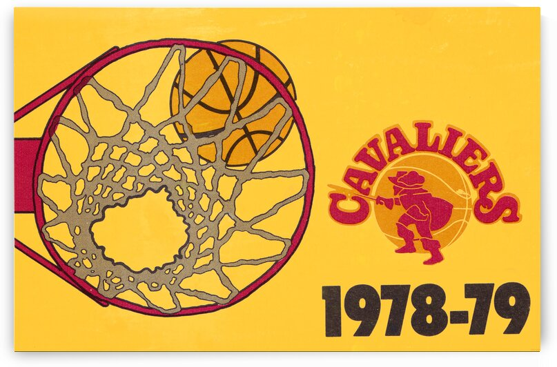 1978 Cleveland Cavaliers Art by Row One Brand