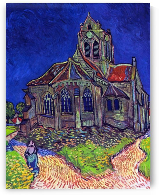 The Church of Auvers by Van Gogh by Van Gogh