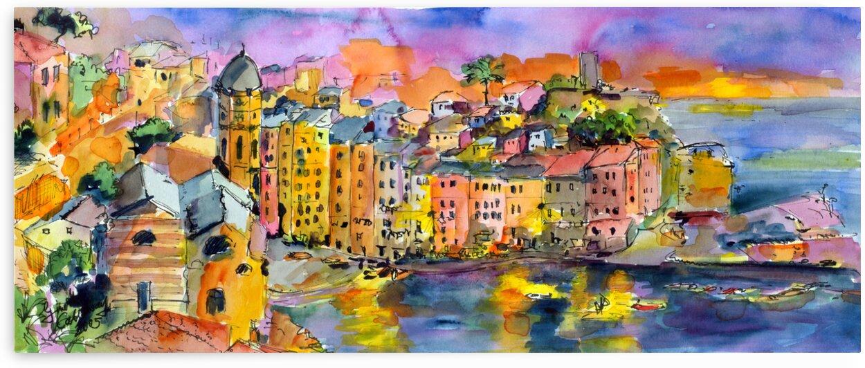 Vernazza Italy Cinque Terre by Ginette Fine Art