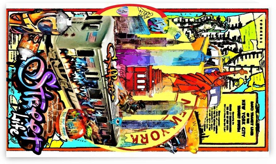 NYC GRAFFITI ART by ANTONIO EPIFANI