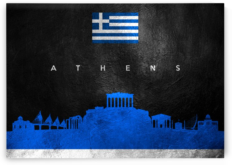 athens skyline by ABConcepts