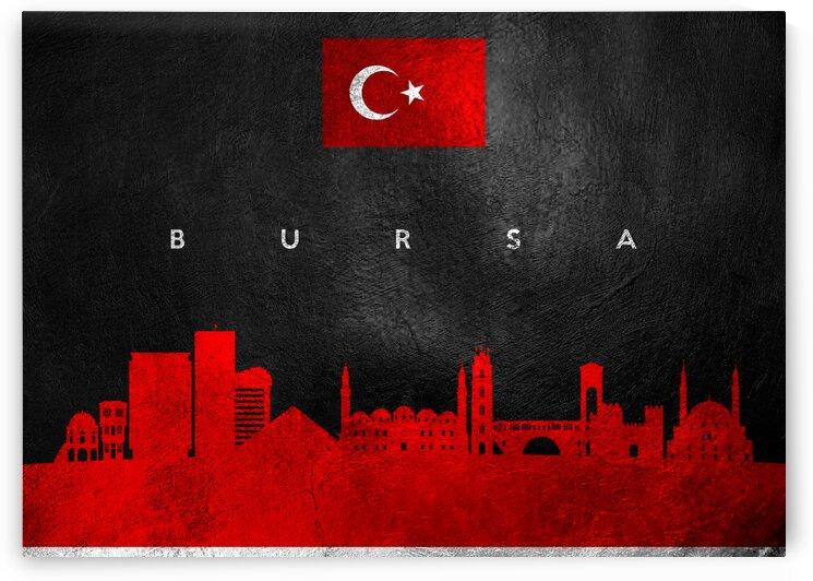 Bursa Turkey Skyline Wall Art by ABConcepts