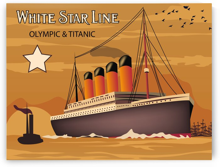 Oversea steamship by vintagesupreme