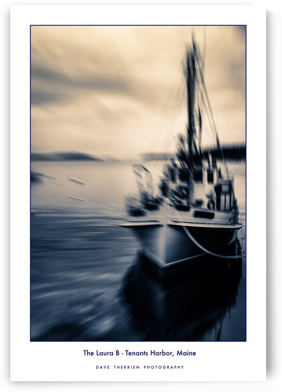 The Laura B - Tenants Harbor Maine by Dave Therrien
