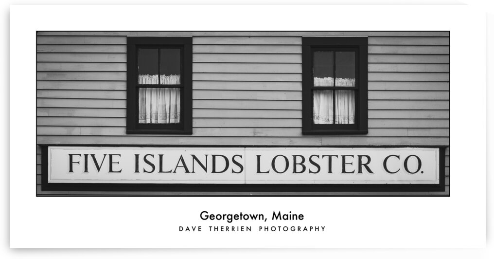 Five Islands Lobster Company - Georgetown Maine by Dave Therrien