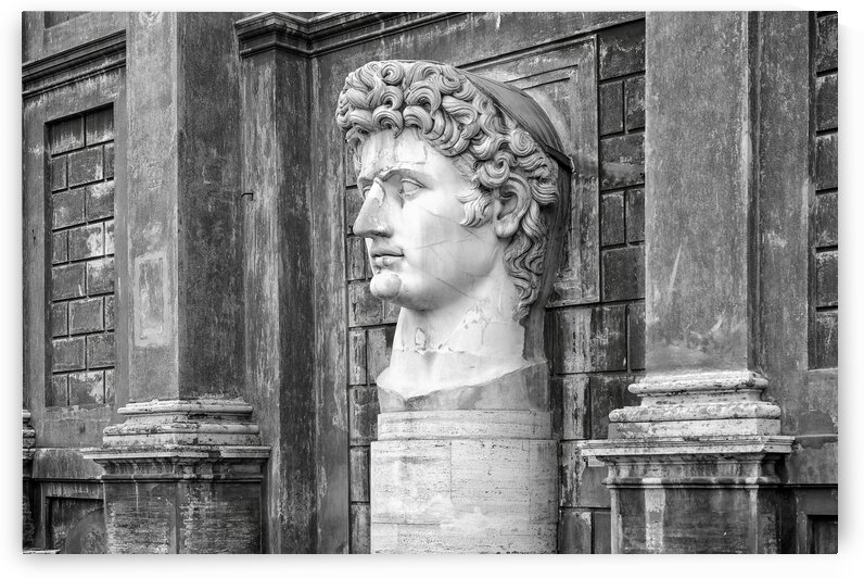 Caesar Augustus at Vatican Museums by Stefano Senise Photography