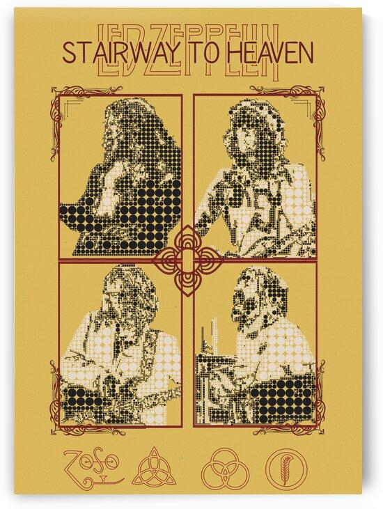 Stairway to Heaven   Led Zeppelin    Robert Plant   Jimmy Page    John Paul Jones   John Bonham by Gunawan Rb