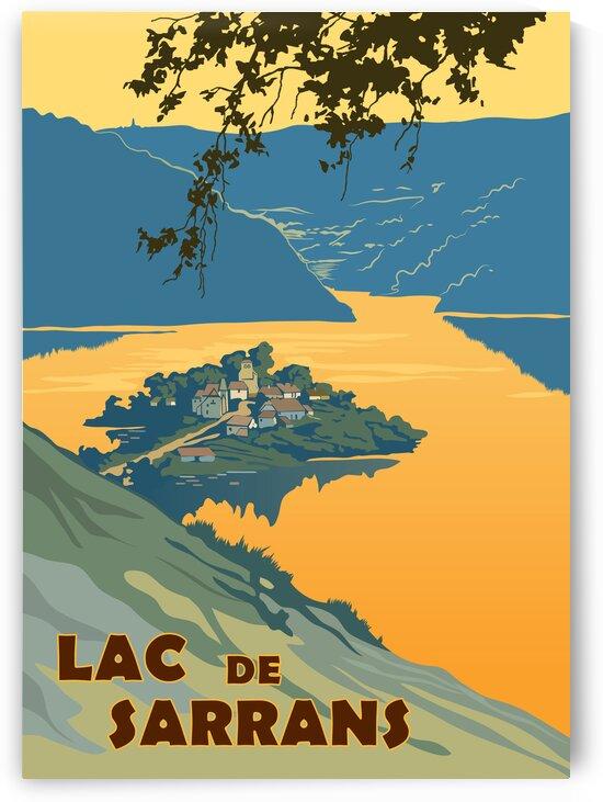 Lac de Sarrans by vintagesupreme